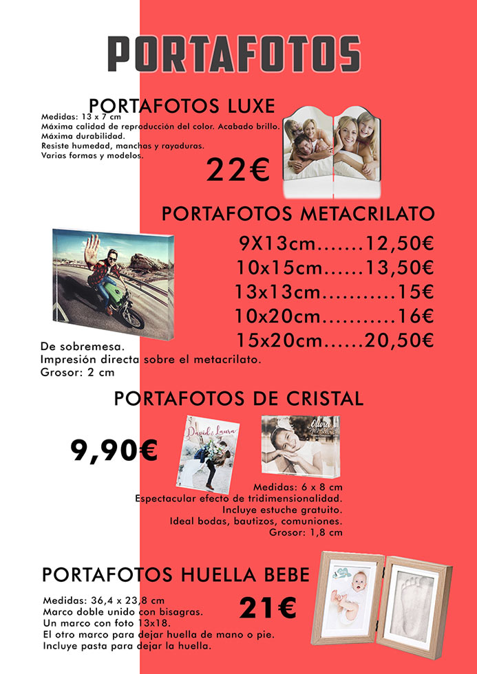 Portafotos originales