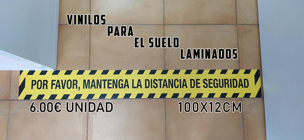 vinilos laminados suelo indicaciones covid19